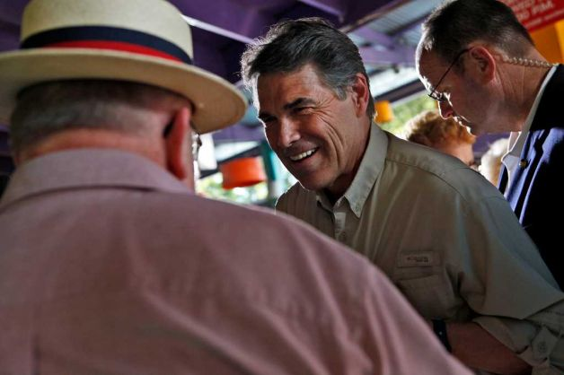 Governor Rick Perry Laughing