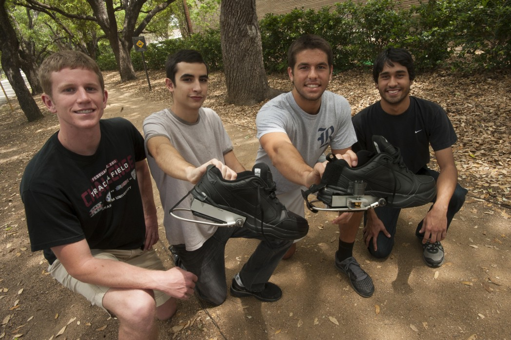 Rice University Students Create PediPower Shoes That Can Charge Gadgets