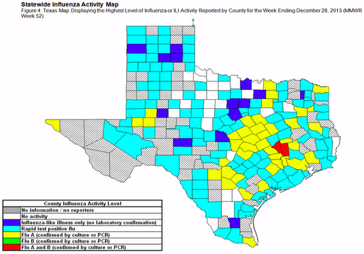 Nineteen Confirmed Flu-Related Deaths In Texas, But Precise Number Of Flu Cases In State Unknown