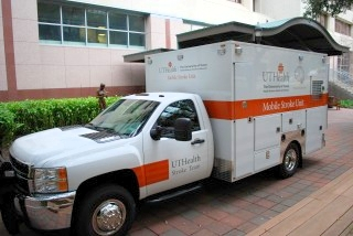 UTHealth Commissions Nation's First Mobile Stroke Unit