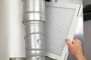 COPD and air filter in residential air