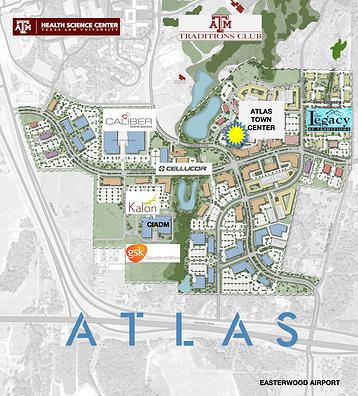 0586a156c2037 Atlas Planned Community At Bryan-College Station Designed With ...