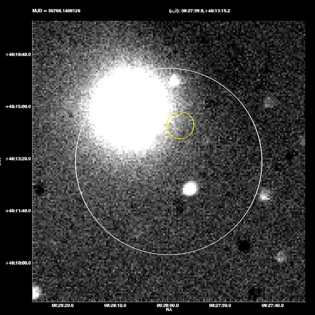 SMU's Astronomy Team Detects Gamma Ray Burst 140419A, a Star Explosion From 12 Billion Years Ago