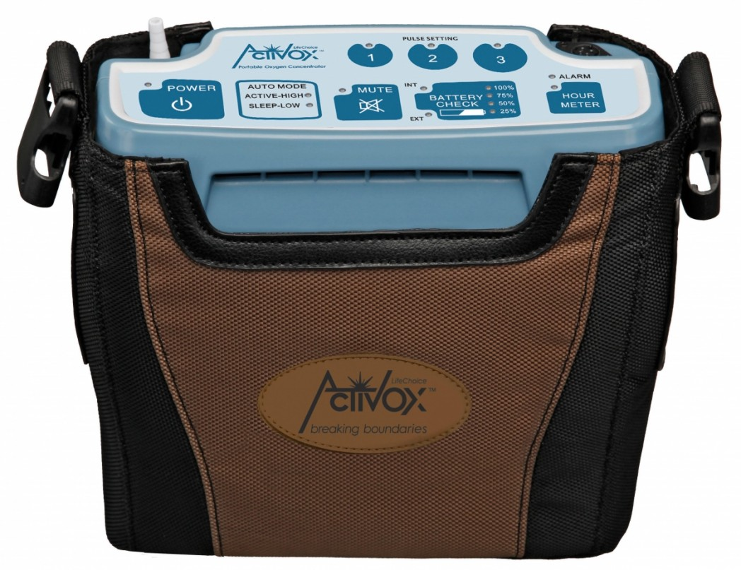 First Integrated Stationary and Portable Oxygen Concentrator System Activox DUO2 Cleared by the FDA