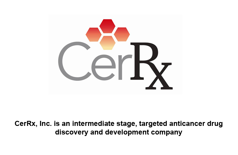 NIH Grants $1.1 Million To CerRx For Novel Cancer Drug Research