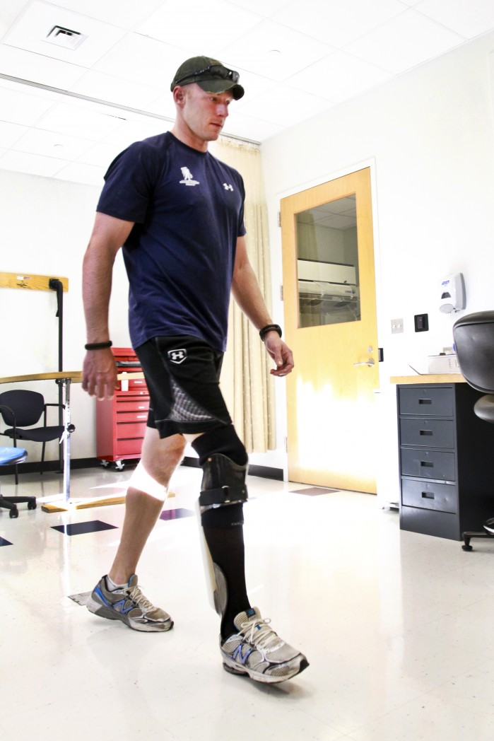 Center for the Intrepid's IDEO Device Gives Injured Army Vets Chance To Walk Again Without Agonizing Pain