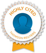Thomson Reuters list of highly cited researchers