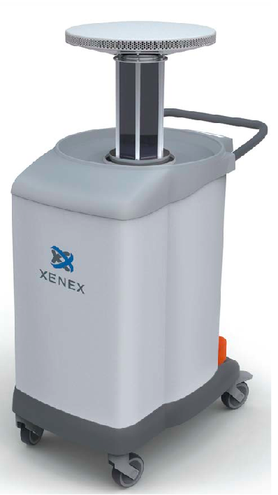 xenex uv emitting room disinfection robots ready to tackle. Black Bedroom Furniture Sets. Home Design Ideas