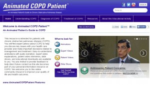 Animated COPD Patient