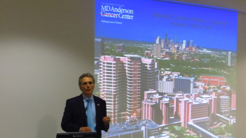 EXCLUSIVE: MD Anderson President Ron DePinho Addresses Long-Term Cancer Strategies at IMM in Lisbon, Portugal