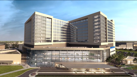 UT Southwestern's William P. Clements Jr. University Hospital To Open in One Month