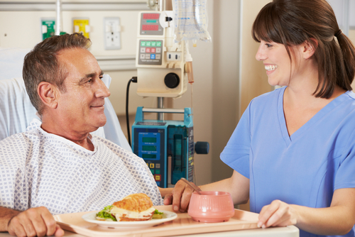 UNT Health Science Center Study Says A Smile While Serving Food At Hospitals Can Assure Patient Satisfaction