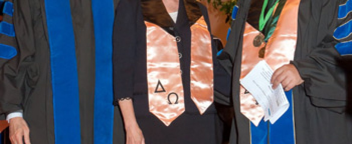Delta Omega Honorary Society In Public Health Nominates a Community Volunteer For The First Time Ever
